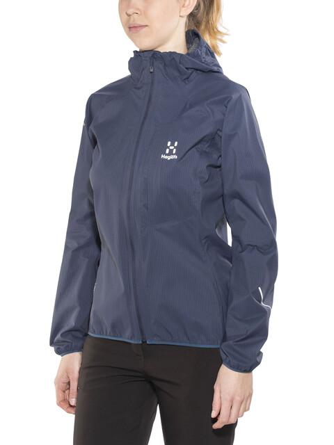 Haglöfs W's L.I.M Proof Jacket Tarn Blue